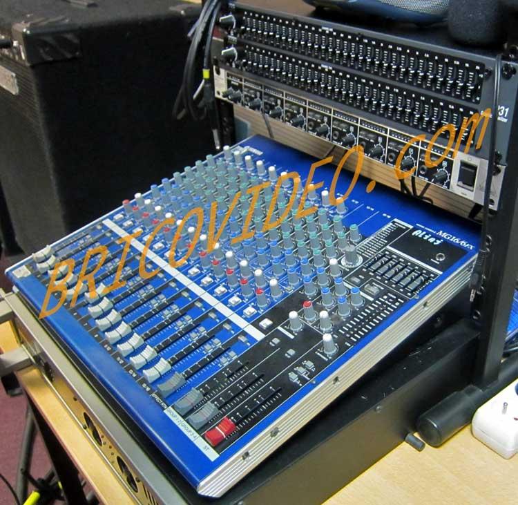Probl me hi fi vid o maison racordement micro et guitare for Table de mixage yamaha 6 pistes