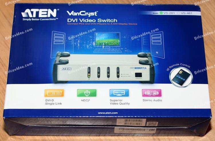 commutateur écrans ATEN VS-261