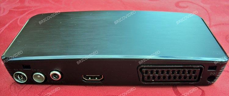 décodeur TNT HD avec prise péritel et HDMI