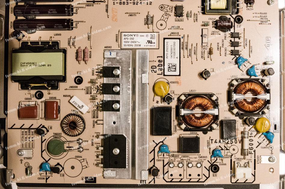 dépannage TV Sony BRAVIA 40HX720