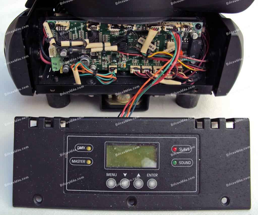 dépanner Lyre remplacement condensateurs