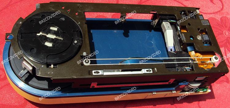 BricoVidéo dépannage platine vinyle vintage portable PS-F5 Sony