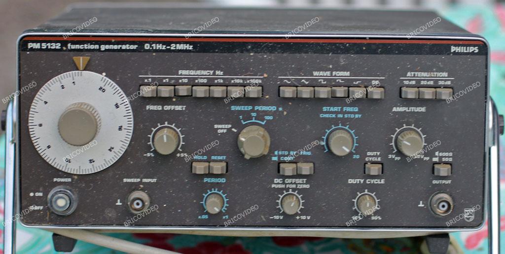 ancien générateur de fonctions Philips PM5132
