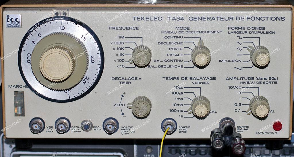 ancien générateur de fonctions IEC TA34