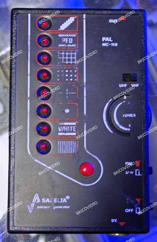 Générateur de mire portable