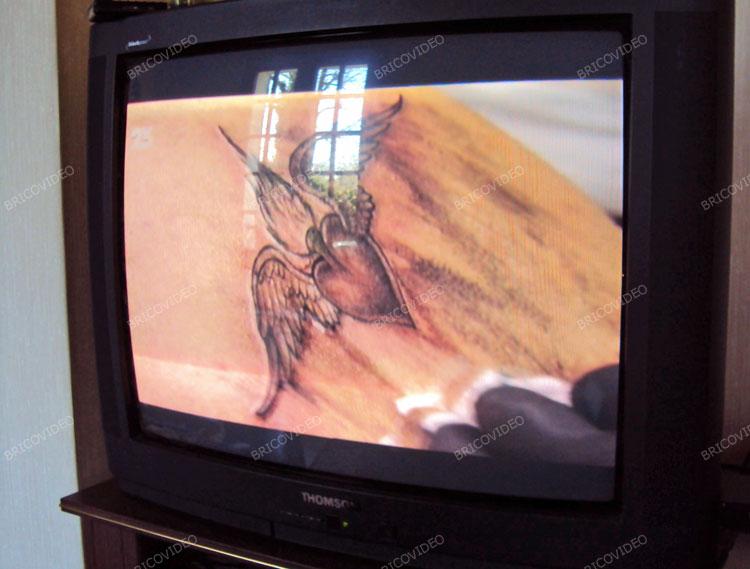 Image TNT HD sur téle cathodique non HD