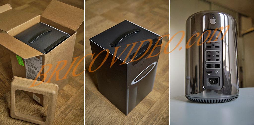 Mac Pro déballage