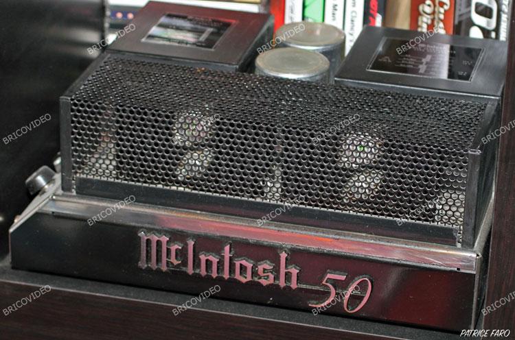 A vendre 2 amplificateur McIntosh MC 50