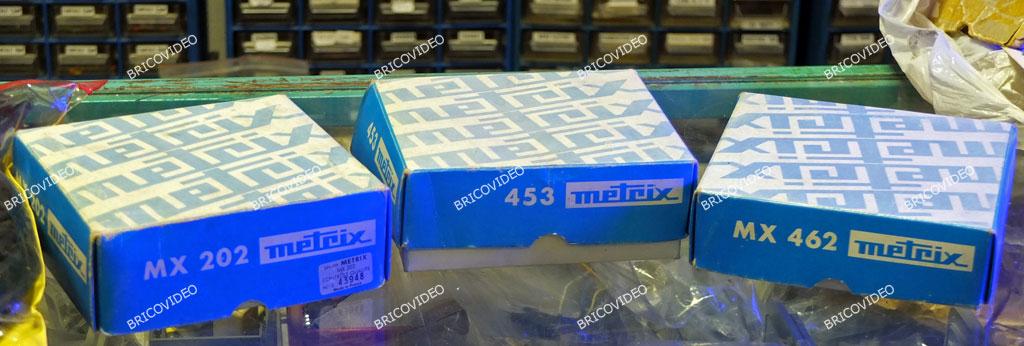 Metrix neufs à vendre