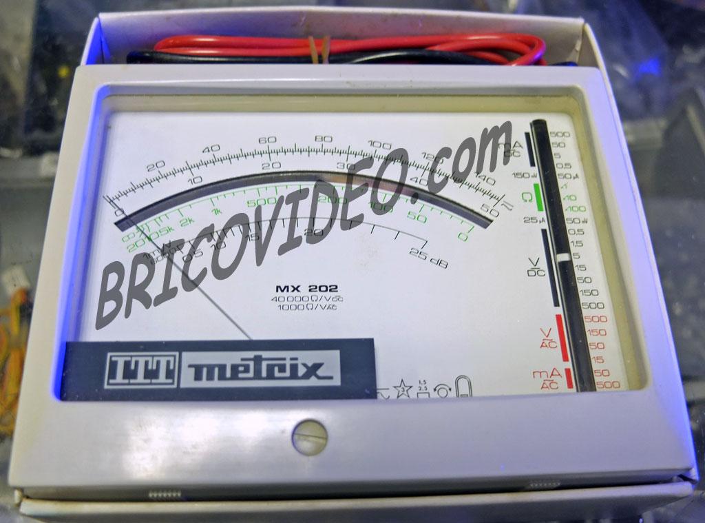 multimètre Metrix MX 202