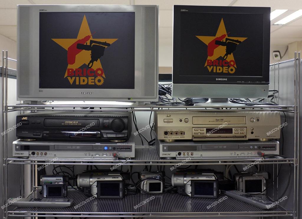 Numérisation cassettes vidéo et transfert sur DVD