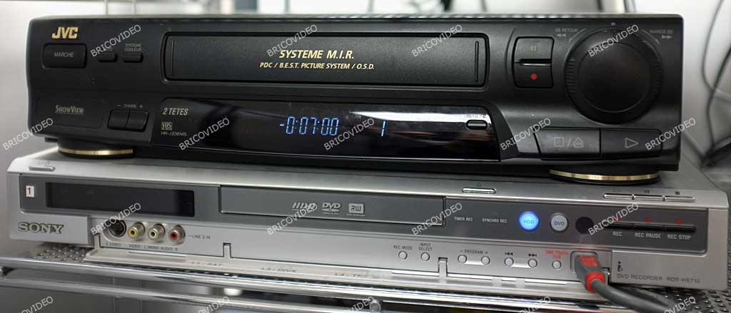 numériser cassettes vidéo VHS sur DVD