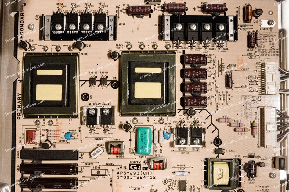 dépannage Sony BRAVIA 40HX720