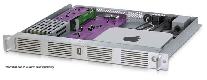 rack 1U Mac Mini