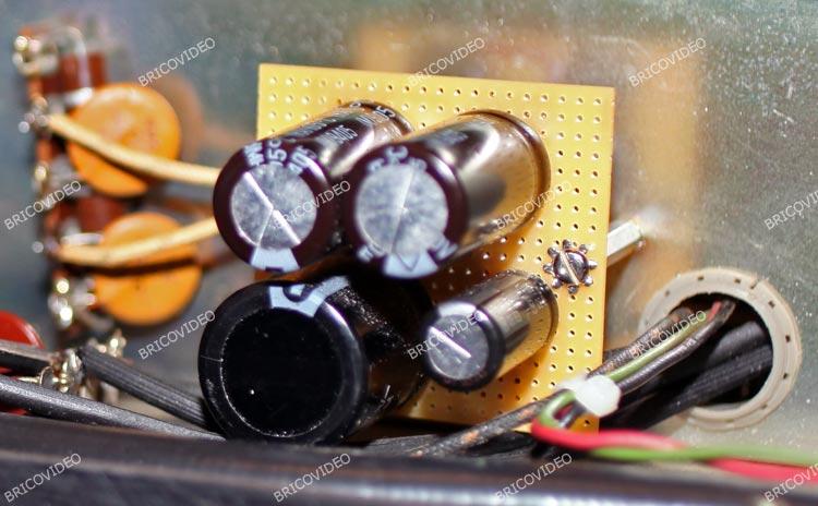 remplacer condensateurs ampli McIntosh MC2100