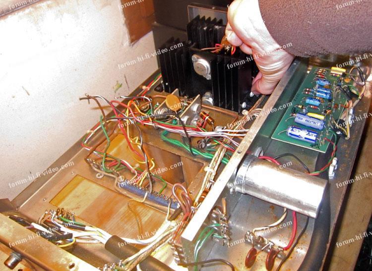 remplacement transistors McIntosh MC 2100