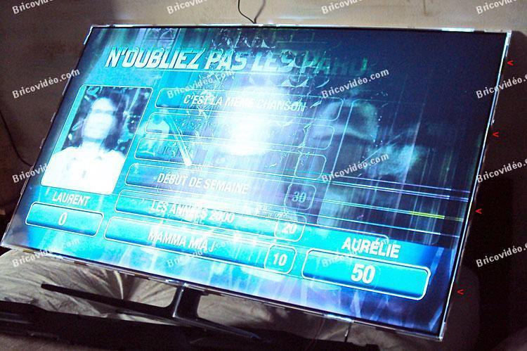 Panne TV Samsung UE55ES6100 dalle HS