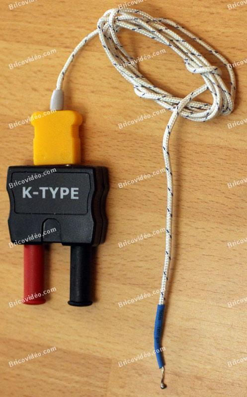 sonde de température multimètre