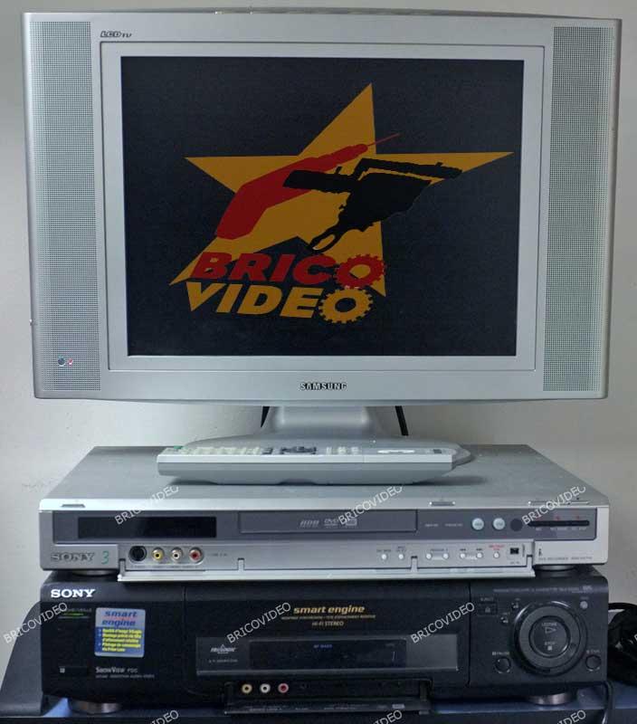 transfert VHS DVD